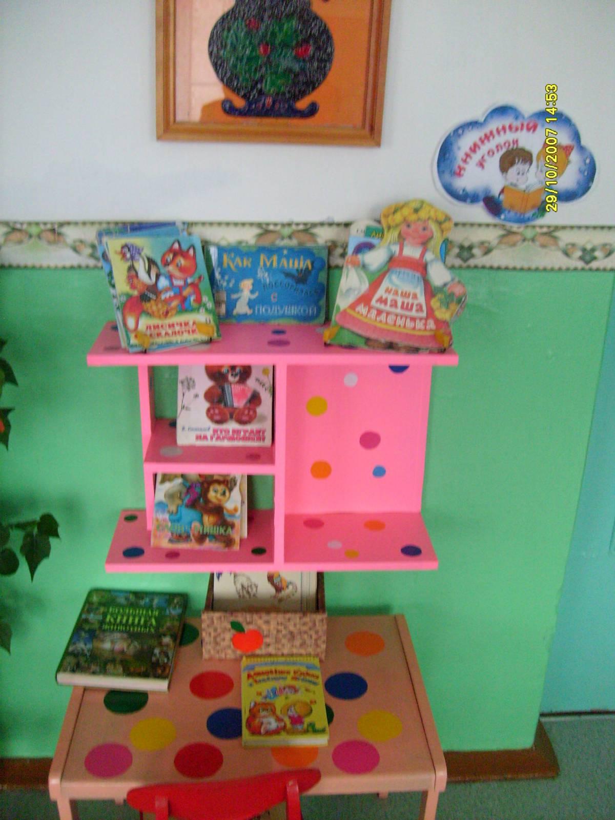 Оформление уголка по развитию речи в детском саду своими руками фото
